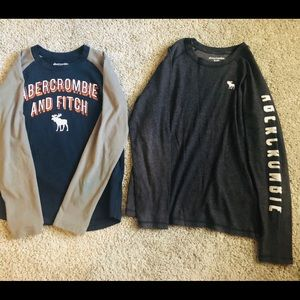 Bundle Boy Abercrombie Kids long sleeve T-shirt's